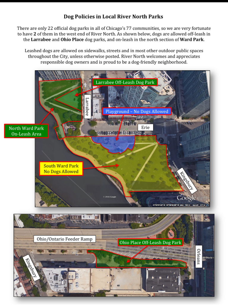 Pet Owners  RNRA Chicago - Map of chicago dog parks