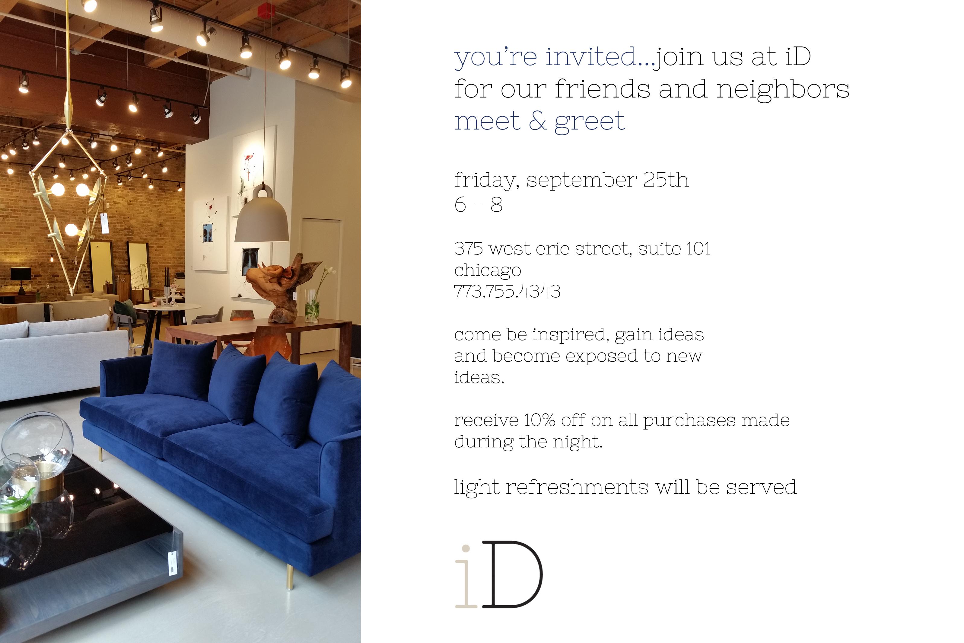 Meet and Greet at iD