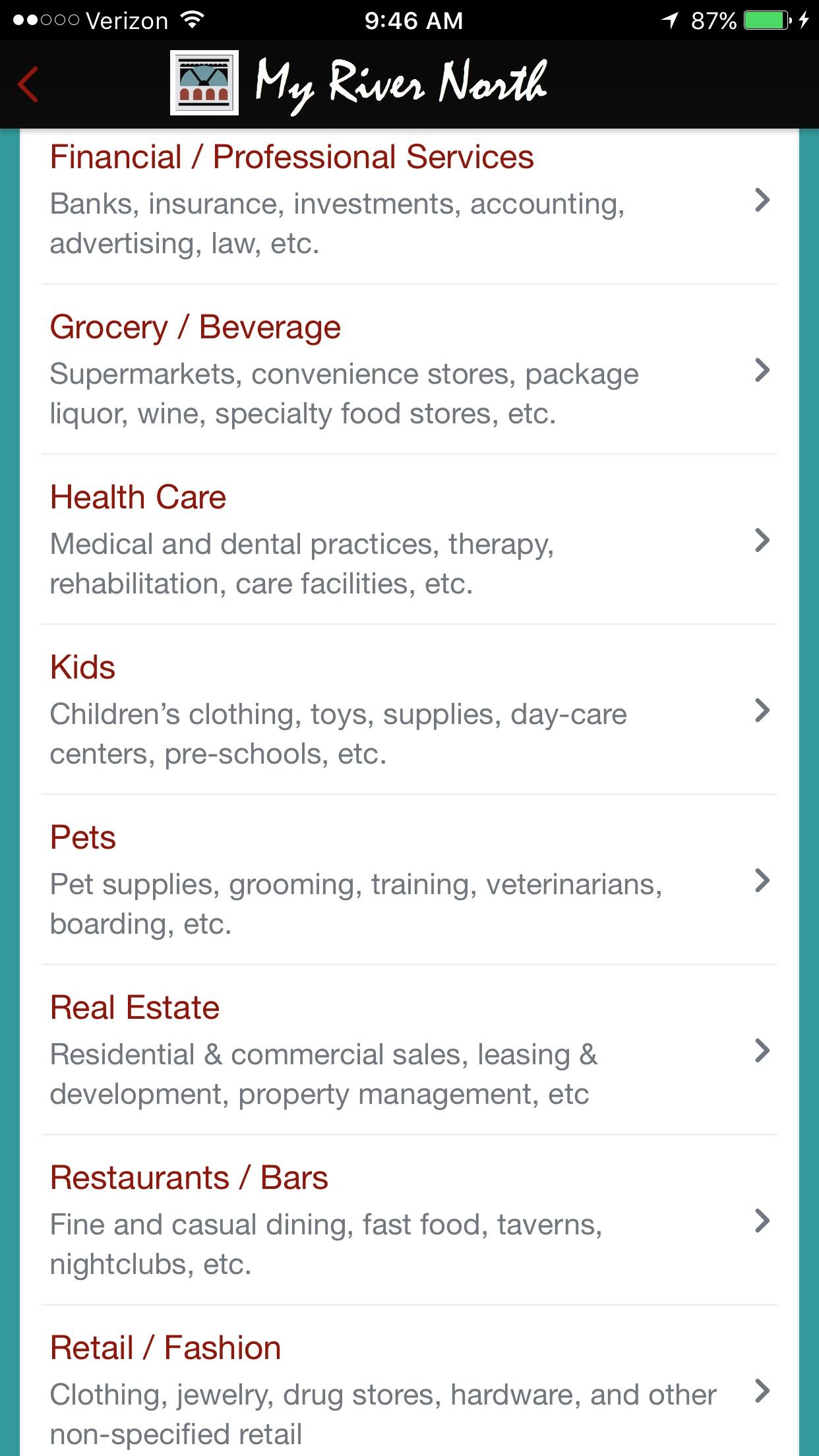 MRN Categories