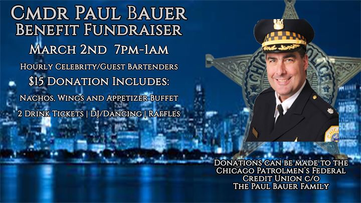 Commander Paul Bauer Benefit Fundraiser – March 2, 2018 at