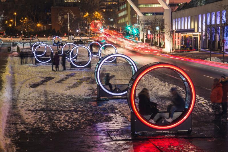 Navy Pier's Loop – New Interactive Public Art Installation in Polk