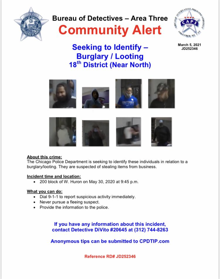 CPD 3-5 Community Alert