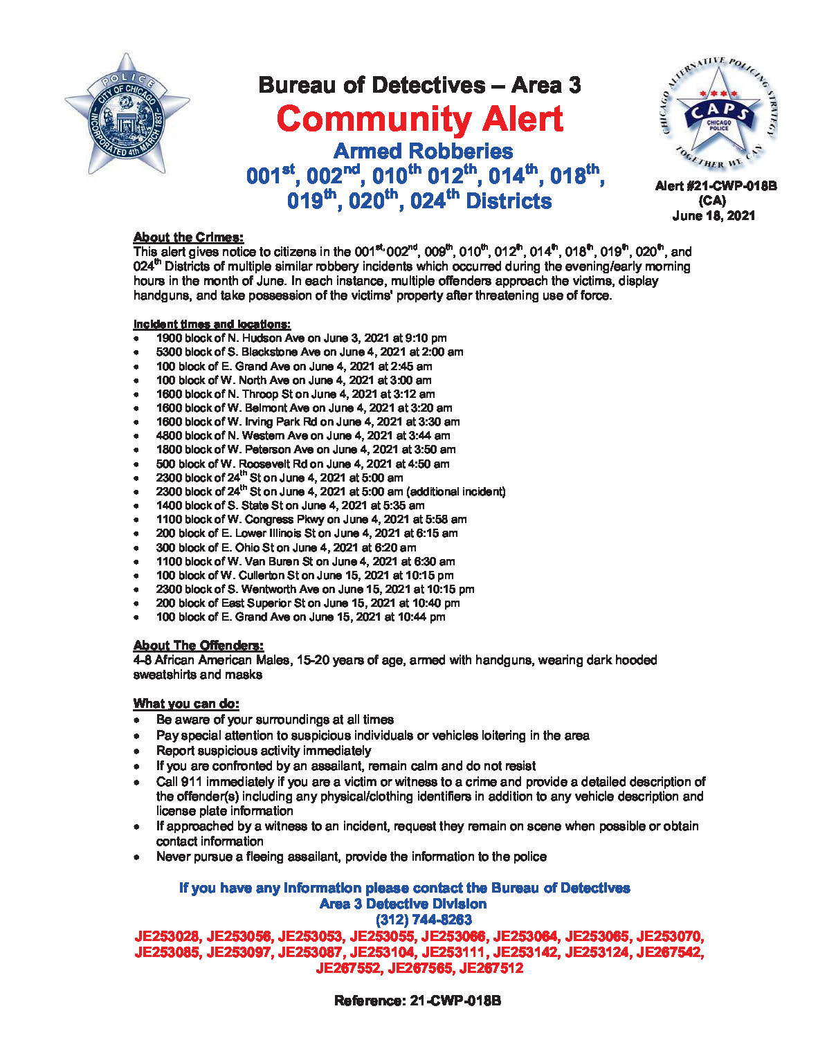 6-18-2021 Community Alert - Citywide - Robbery - 21CWP018B_Page_1
